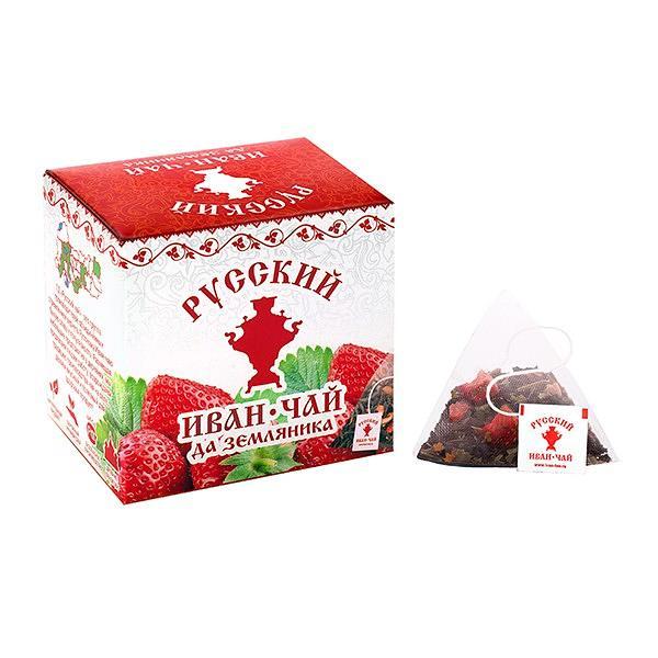 Ivan Tea with Wild Strawberry, 20 pyramids