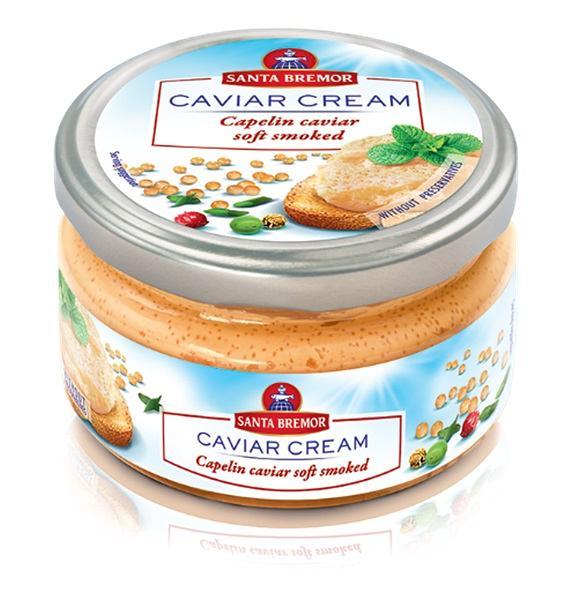 Santa Bremor Capelin Smoked Spread #3, 6.35 oz / 180 g