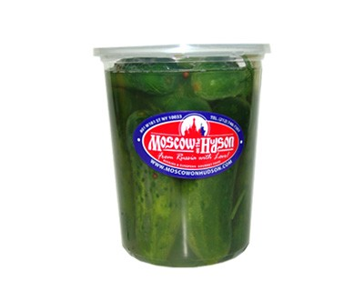 Pickled Cucumbers in Brine (Plastic Container), 2 lb