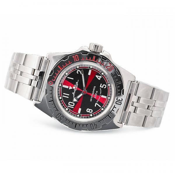 Vostok Amphibian Russian Military Diver's Mechanical Men's Watch (110650)