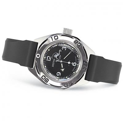 Vostok Amphibian Russian Military Diver Mechanical Men's Watch (670919)
