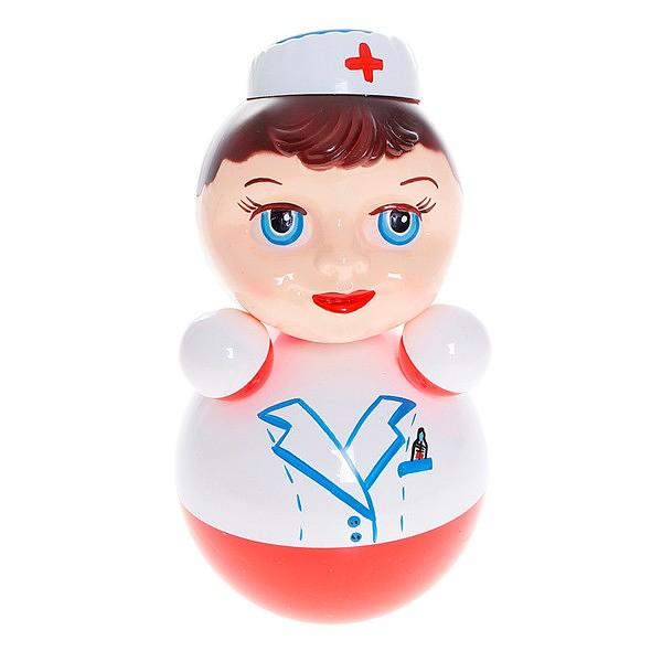 "Roly-poly toy, Doctor 4.7""x4.7""x8.6"""