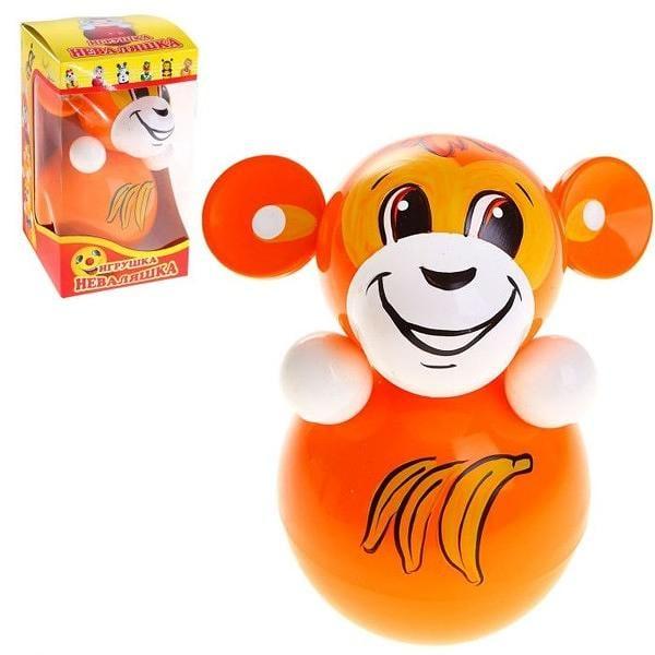 """Roly-Poly Toy, Monkey 3.5""""x3.5""""x6.3"""""""