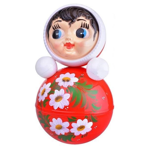 """Roly-Poly Toy, Alenushka, 7.8""""x7.8""""x15.7"""""""