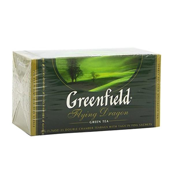 Greenfield Flying Dragon Green Tea, 25 tea bags