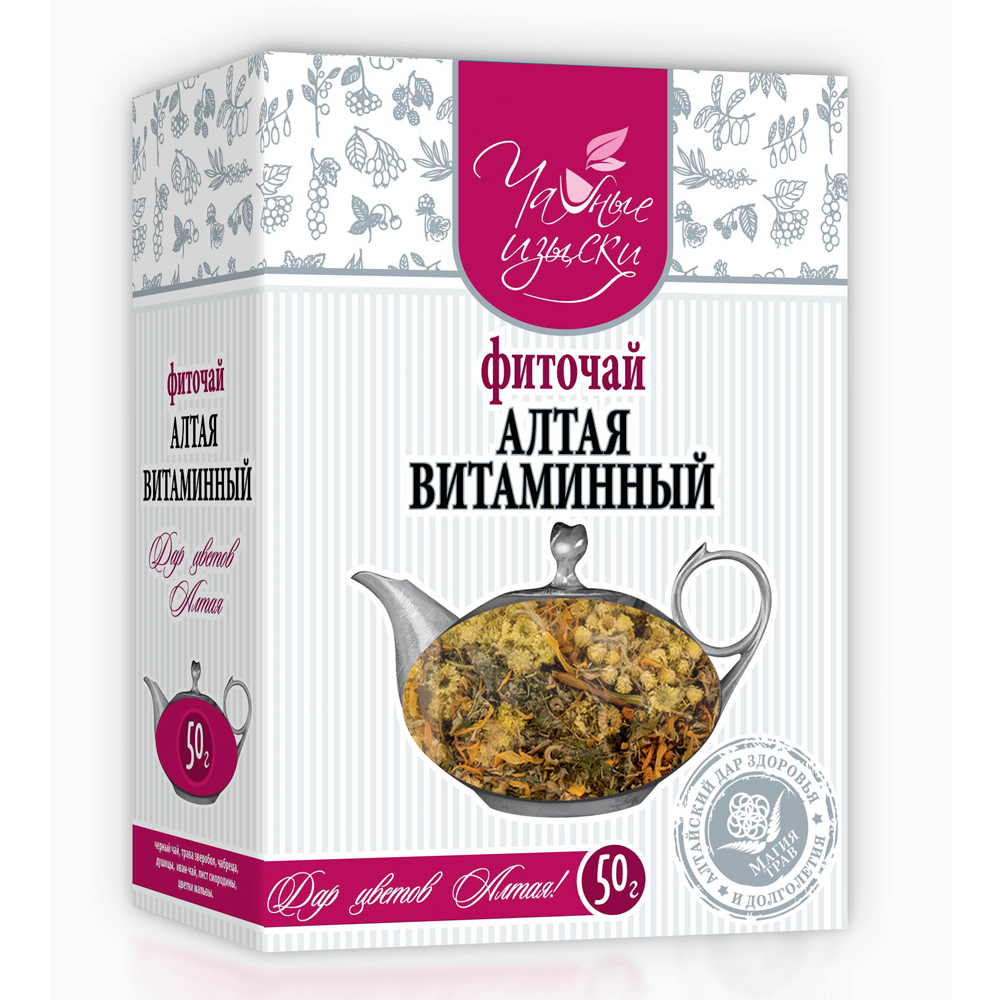 Altai Herbal Tea-Vitamin, Tea Delights, 50 g/ 0.11 lb