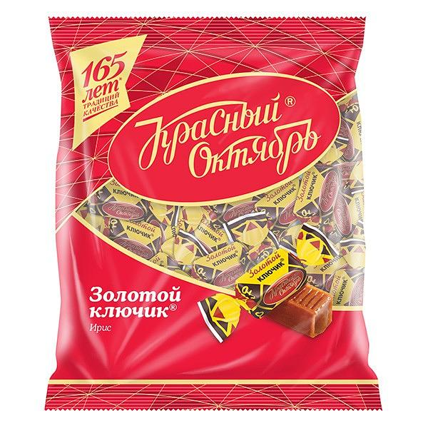 """Toffee Candy """"Golden Key"""", 8.8 oz / 250 g"""