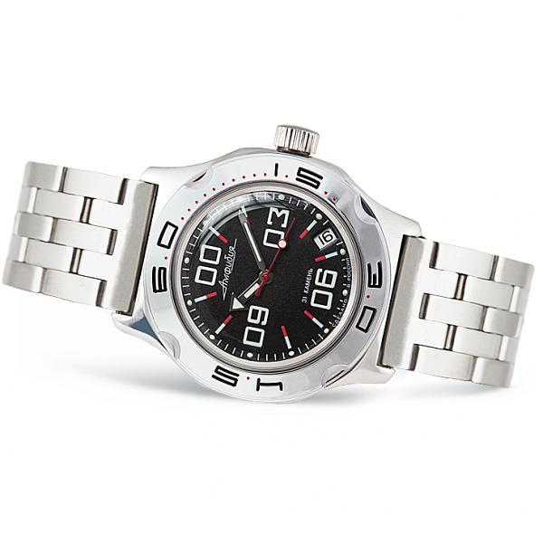 Vostok Amphibian Russian Military Diver's Mechanical Men's Watch (100843)