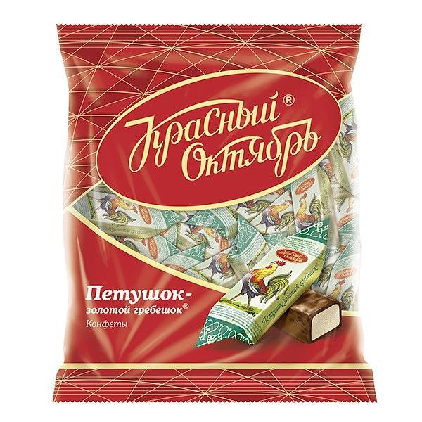 "Chocolate Candy ""Petushok Zolotoy Grebeshok"", 8.8 oz / 250 g"