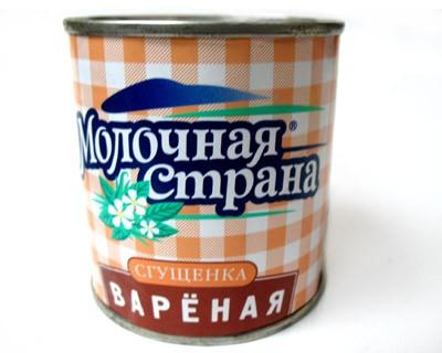 Milk Country Sweet Condensed Milk Varenka, 12.34 oz / 350 g (Can)