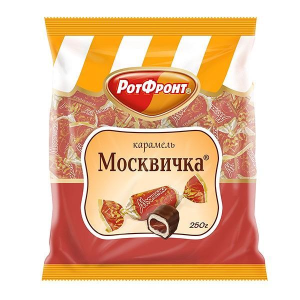 "Caramel Candy ""Moskvichka"", 8.8 oz / 250 g"