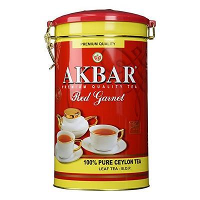 Akbar Tea Red Garnet in Tin Box, 15.87 oz / 450 g