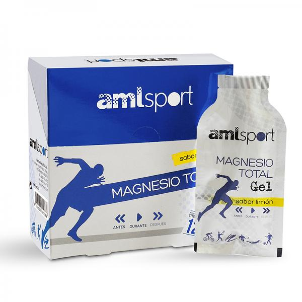 MAGNESIUM TOTAL GEL BY AML SPORT (12 UNITS)