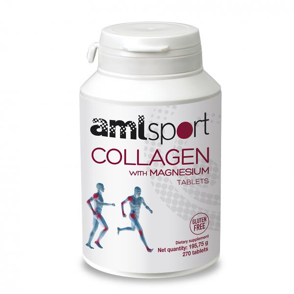 COLLAGEN WITH MAGNESIUM, AML SPORT | 45 DAYS / 270 TABLETS