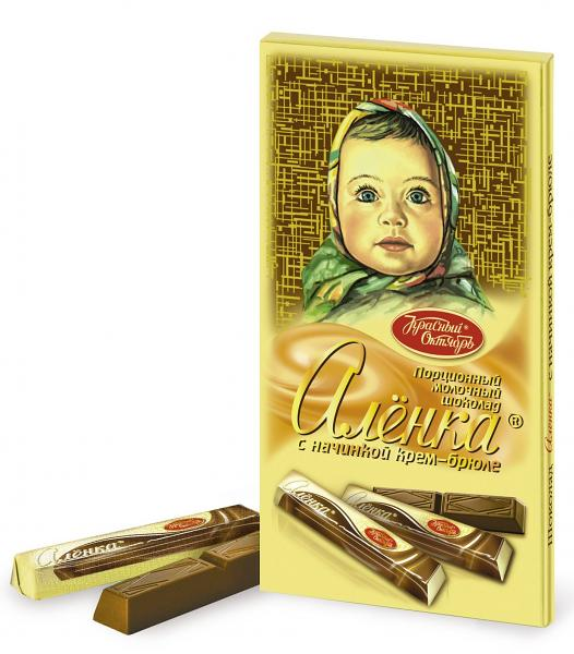 Alenka Aereated Milk Chocolate Sticks, 3.52 oz/ 100 g