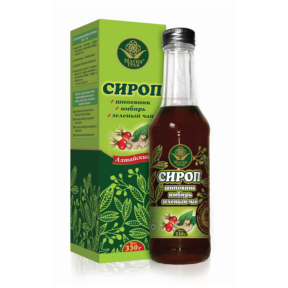 Altai Syrup, Rosehip, Ginger, Green Tea, 0.73 lb/ 330g