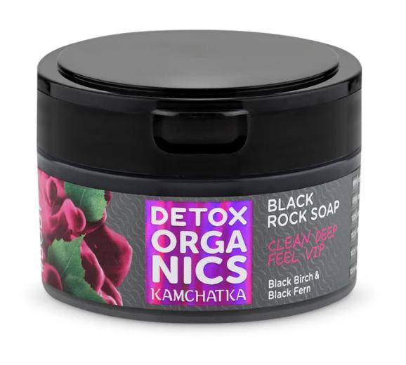 Black Rock Soap 200ml Detox Organics Kamchatka