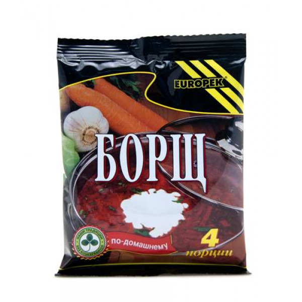 Borscht, Europek, 4 Servings