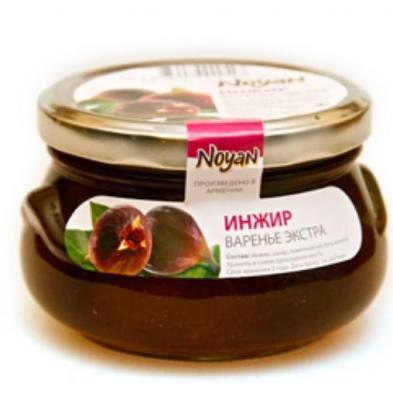 Natural Organic Noyan Armenian Fig Preserve, 1 lb / 0.45 kg