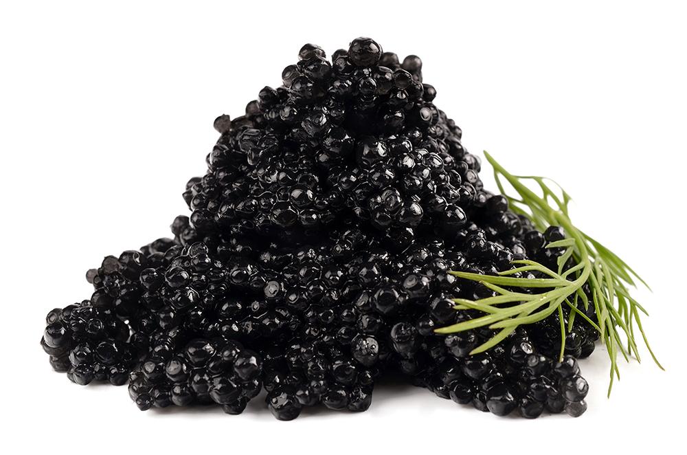 Osetra Black Caviar Malosol (not pasteurized), 125gr