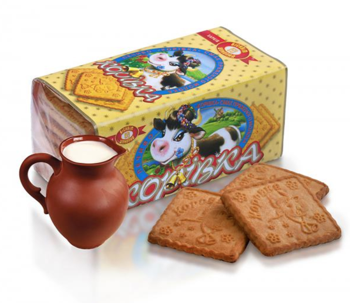"Cookies ""Korovka"" with Baked Milk, 6.52 oz / 185 g"