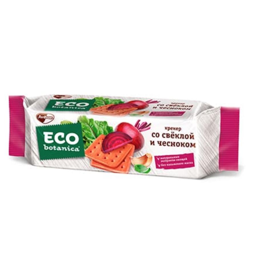 Cracker w/ Beetroot and Garlic, ECO BOTANICA, 0.44 lb/ 200g