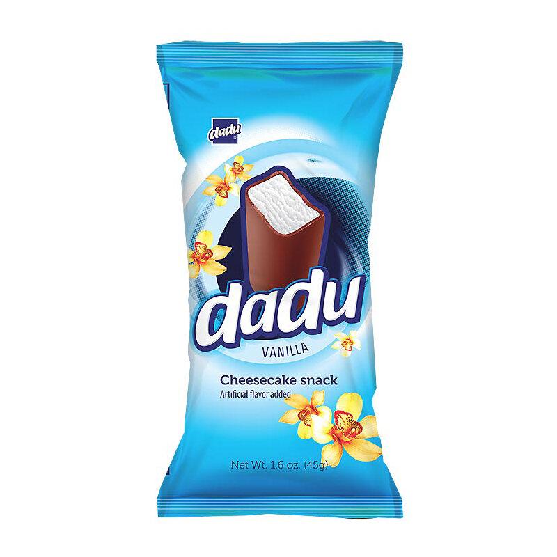 Dadu Vanilla Cheesecake Bar, 1.58 oz / 45 g  (4 pc )