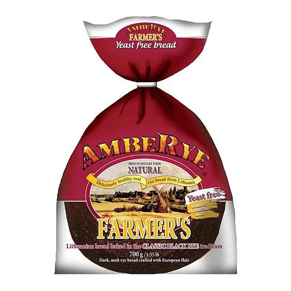 AmbeRye Yeast FREE Farmer's Bread, 24.7 oz / 700 g