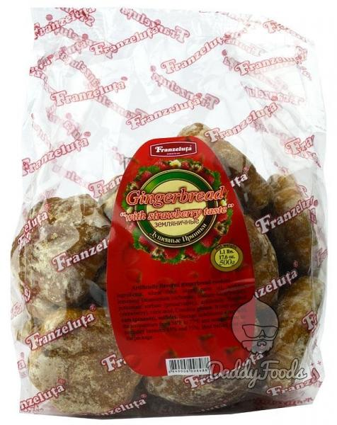 Gingerbread with Wild Strawberry Flavor, 14.11 oz/ 400 g
