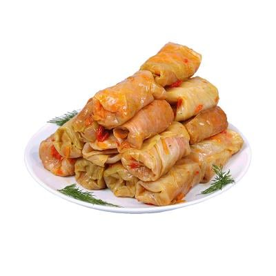 Golubtcy/Cabbage Rolls Stuffed wth Rice and Meat