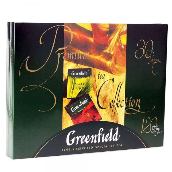 Greenfield Premium Tea Collection, 120 tea bags