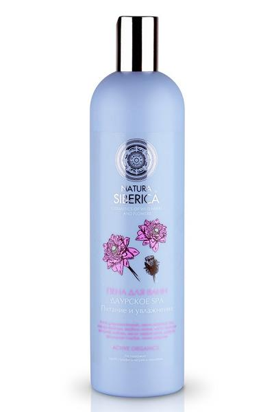 "ACTIVE ORGANICS Bubble Bath Daurian SPA ""Nourishing and Moisturizing"" with Lily, Sophora Japonica, 20.28 oz/ 600 Ml"