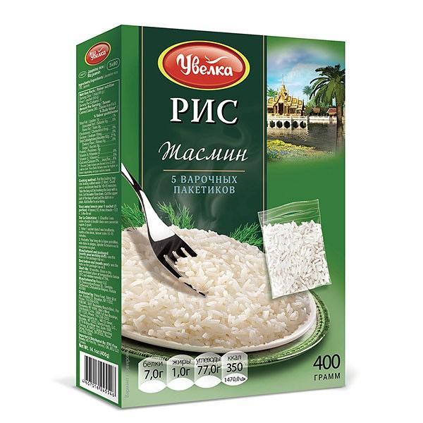 Jasmine Rice (5*80g), 14.10 oz / 400 g