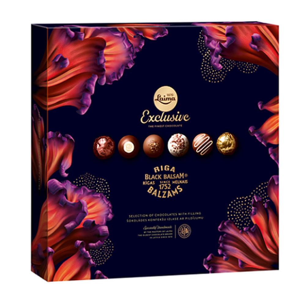 Exclusive Riga Black Balsam Candy Selection, 6.52 oz / 185 g