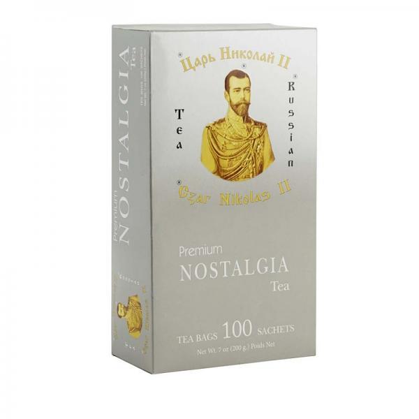 Tea Czar Nicholas II Premium Nostalgia, 100 tea bag