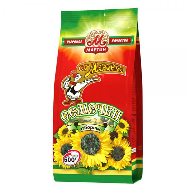 "Roasted Sunflower Seeds ""Ot Martina"", 17.64 oz / 500 g"