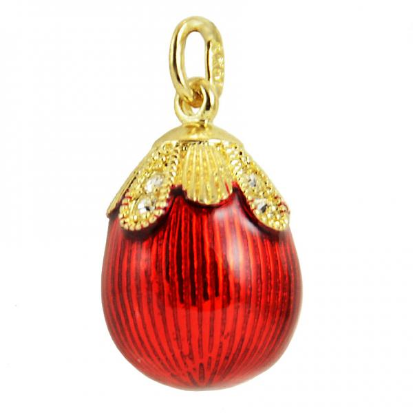 "Russian Style Pendant ""Drop"" (red), 1217-12-01"