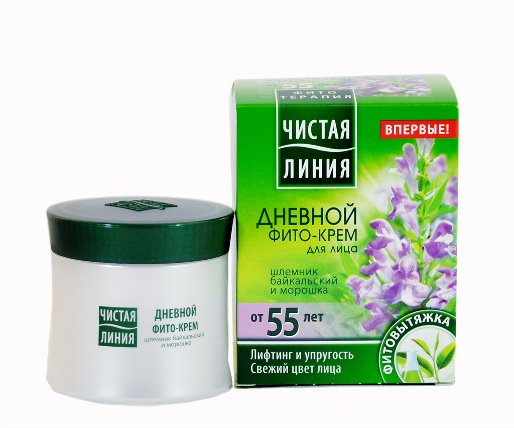 Phyto Day Face Cream Scutellaria and Cloudberries 55+, 1.69 oz/ 50 Ml