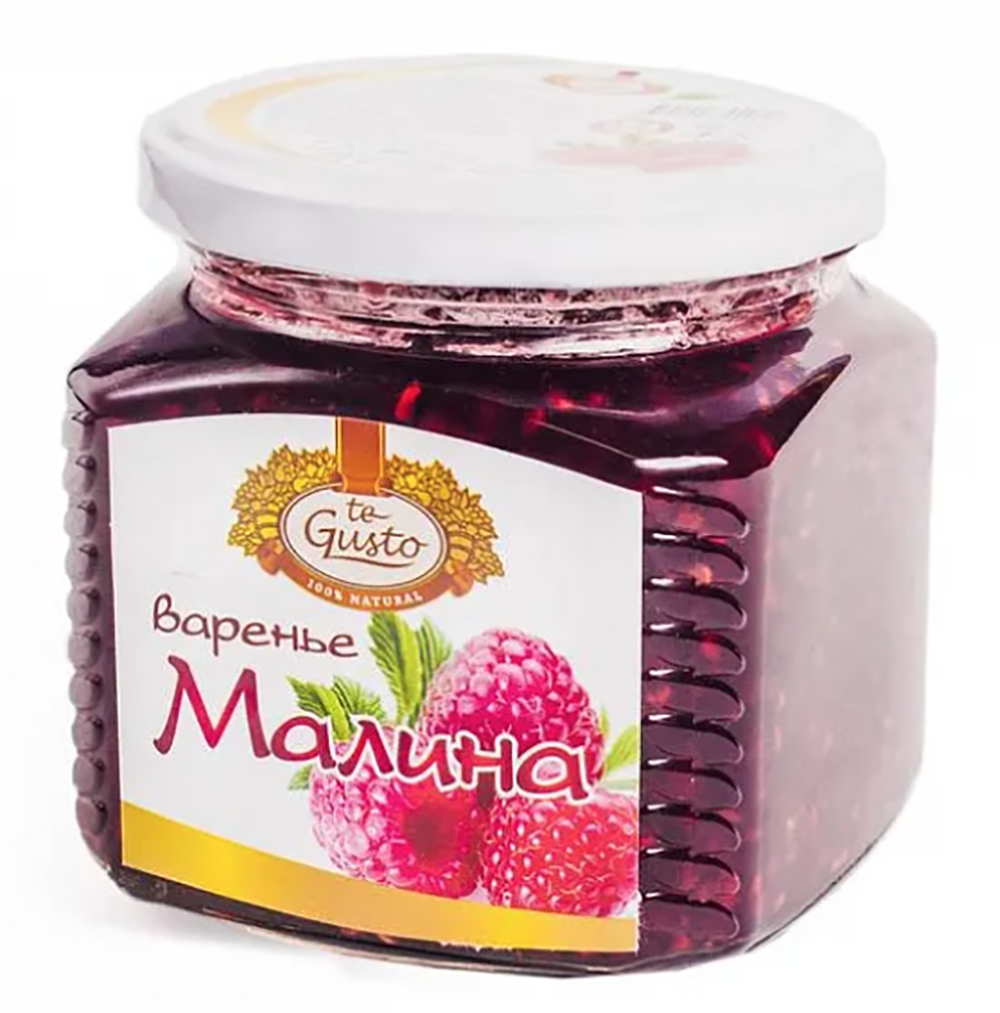 Raspberry Preserve, Te Gusto, 470 gr/ 1 lb