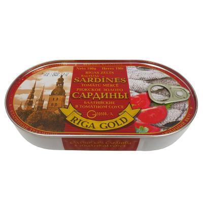 Baltic Sardines in Tomato Sauce, 6.7 oz / 190 g