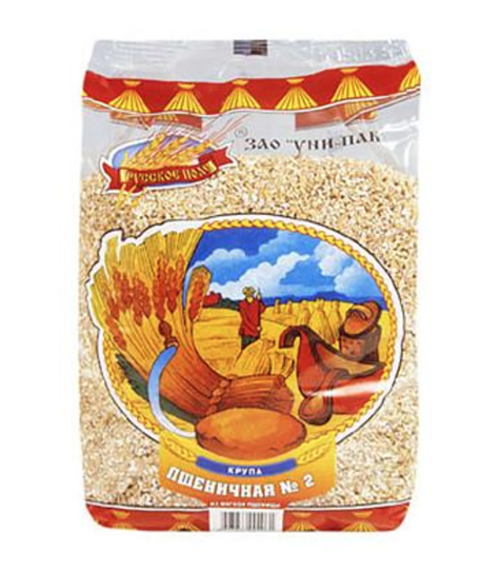 Russkoe Pole Wheat Groats, 750 g