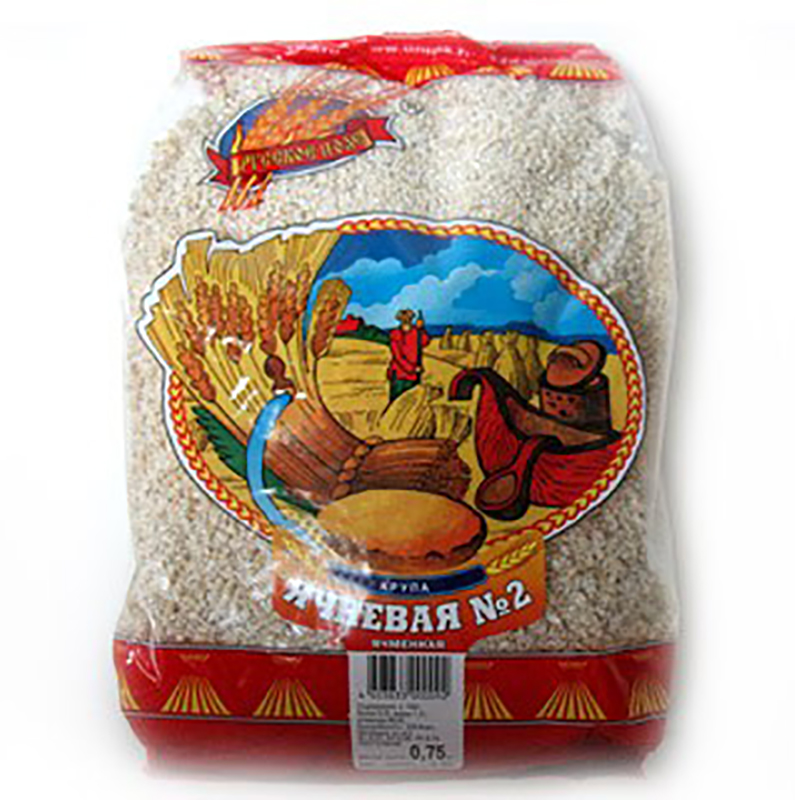 Russkoye Pole Barley Groats, 26.45 oz/ 750 g