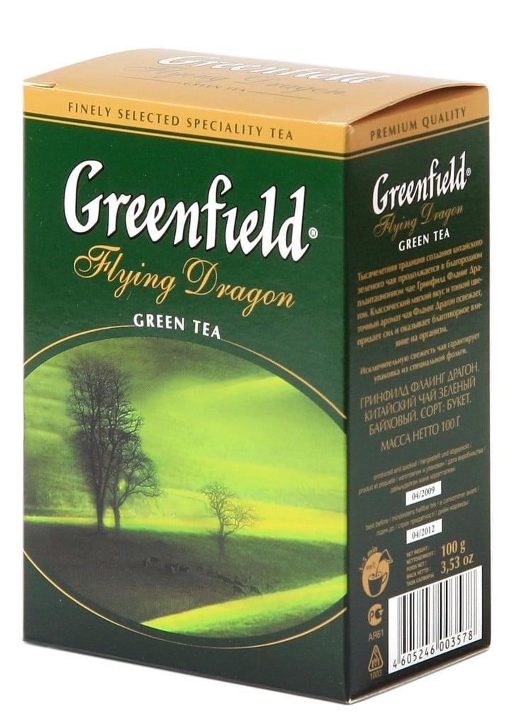"Greenfield Green Tea ""Flying Dragon"", 25 Tea Bags"