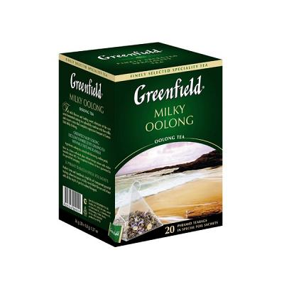 "Greenfield Oolong Tea ""Milky Oolong"", 25 Tea Bags"
