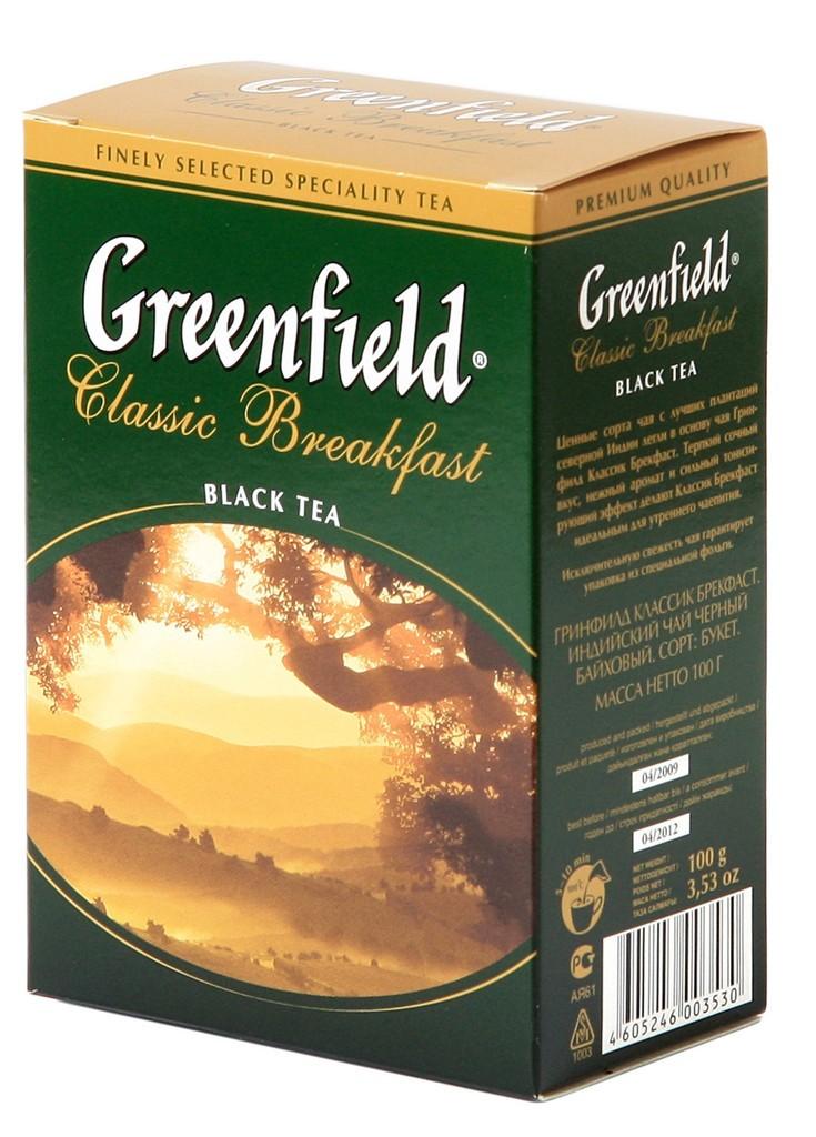 Greenfield Classic Breakfast Black Loose Tea, 7.05 oz / 200 g