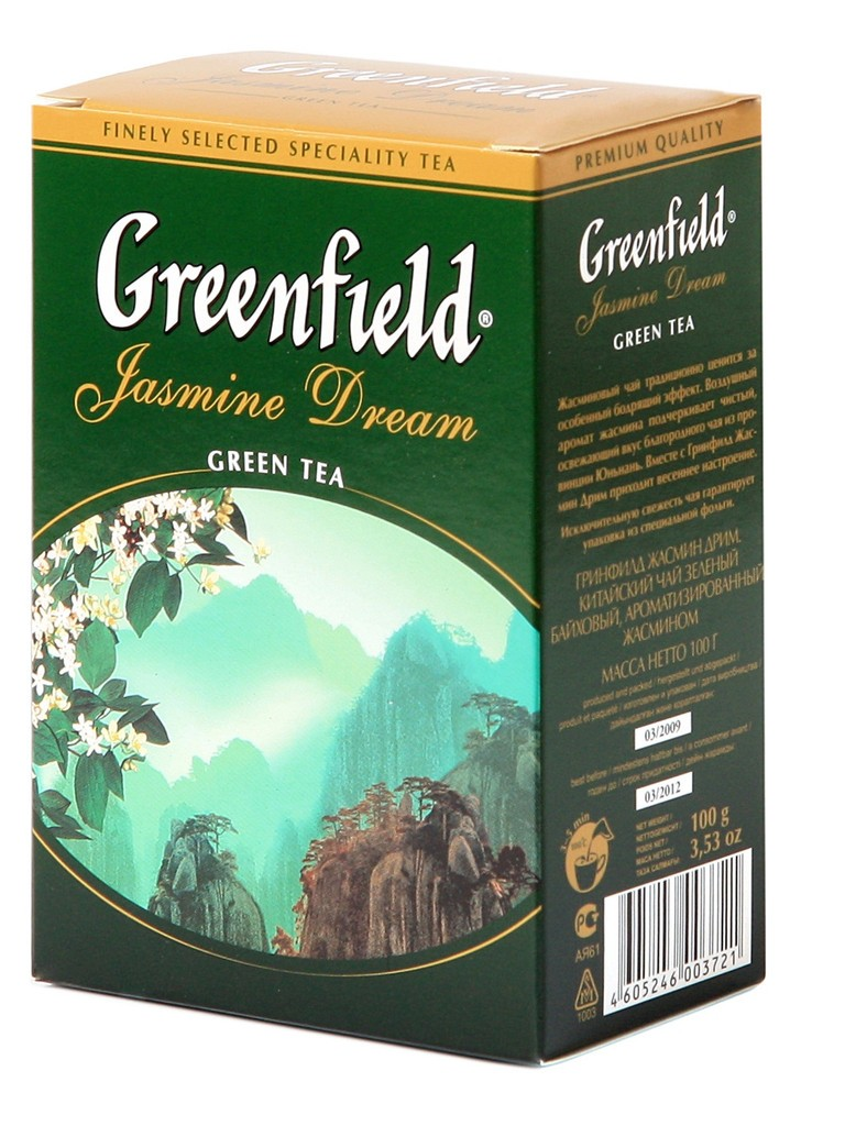 "Greenfield Green Loose Tea ""Jasmine Dream"", 7 oz/ 200 g"