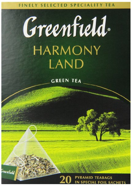 "Greenfield Green Loose Tea ""Harmony Land"" (Tin Can), 7 oz/ 125 g"
