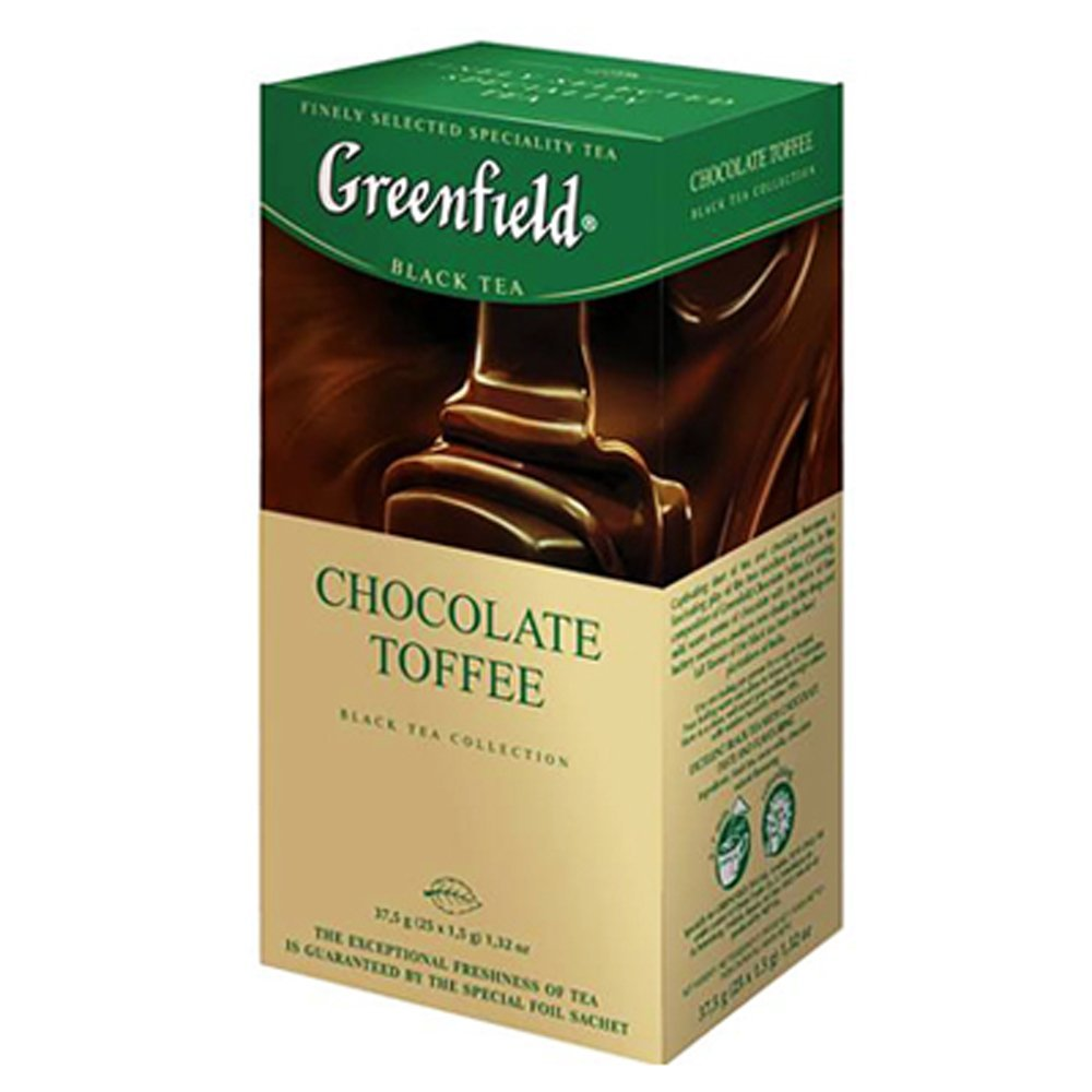 "Greenfield Black Tea ""Chocolate Toffee"", 25 Tea Bags"
