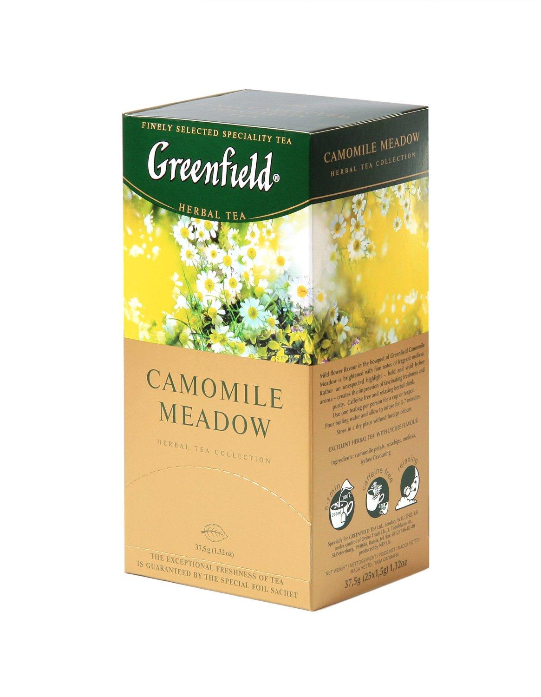 Greenfield Tea, Camomile Meadow, 25 Tea Bags
