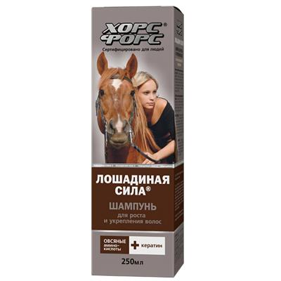 Horse Force Hair Growth Promoting Shampoo with Wheat & Keratin, 8.45 oz/ 250 ml (Horse Force)